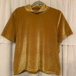 Velvet Madewell Mockneck Tshirt